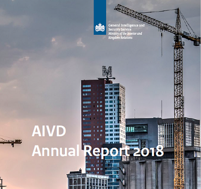 Cover of AIVD Annual Report 2018